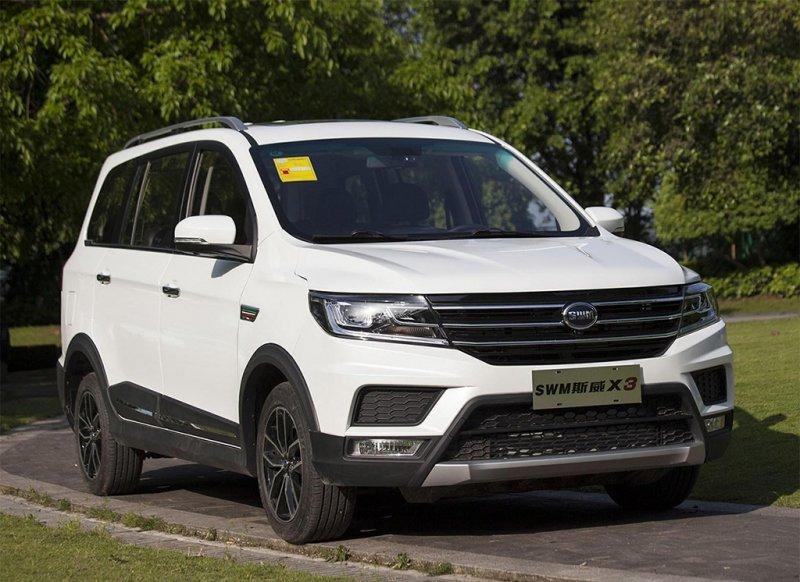 SWM Motors выпустил нарынок бюджетный кросс-вэн X3