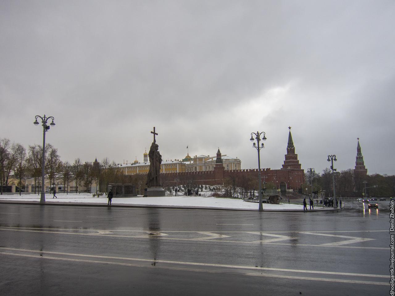Москва. Памятник князю Владимиру