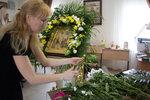 Слушатели и выпускники прикладного курса «Флорист» украсили Свято-Троицкий кафедральный собор к празднику  Входа Господня в Иерусалим