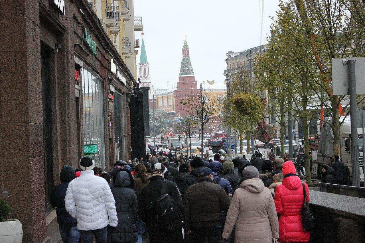 на Тверской улице высадят 104 липы