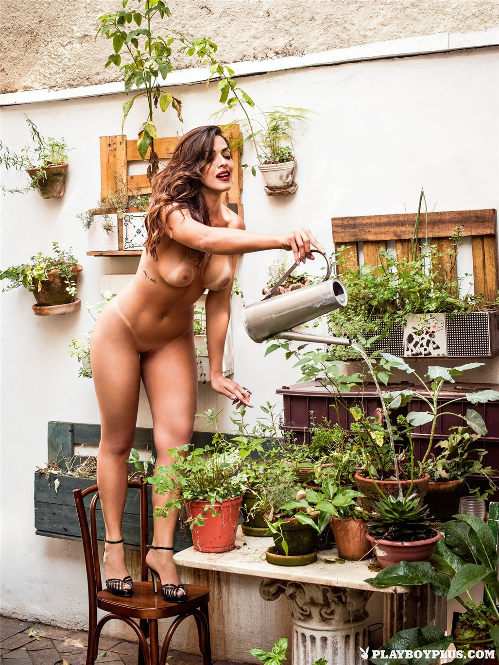Девушка месяца Нуэлле Алвес / Nuelle Alves - Playboy Brazil february 2015 playmate