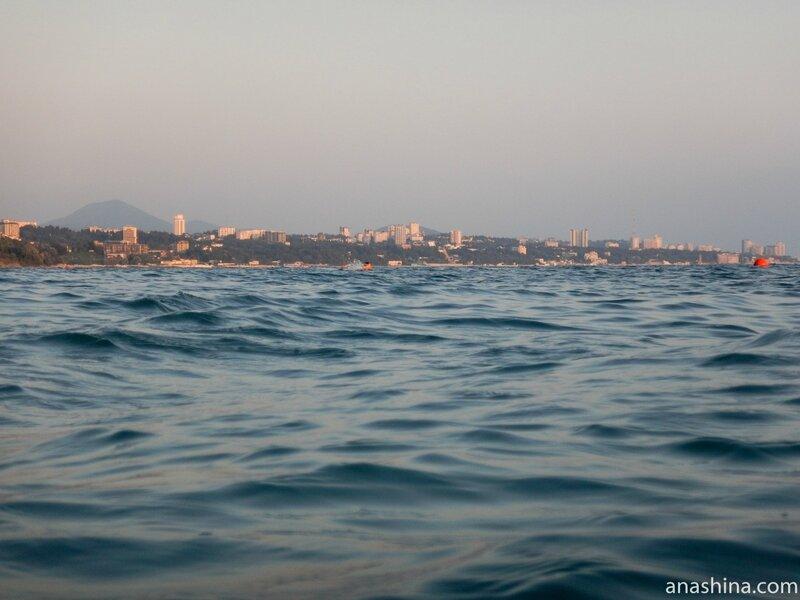 Вид на Сочи из Дагомыса