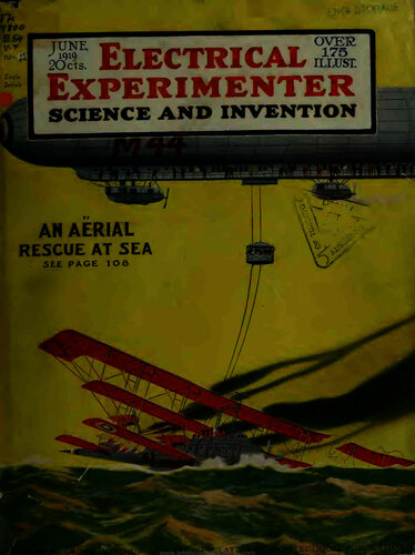 Electrical Experimenter: 1919 June - - Book Cover