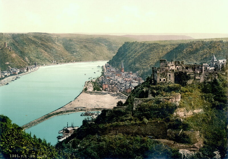 Санкт-Гоар, конец XIX века
