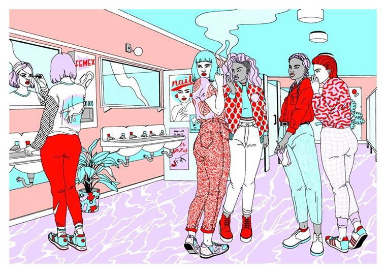 The colorful illustrations of Laura Callaghan