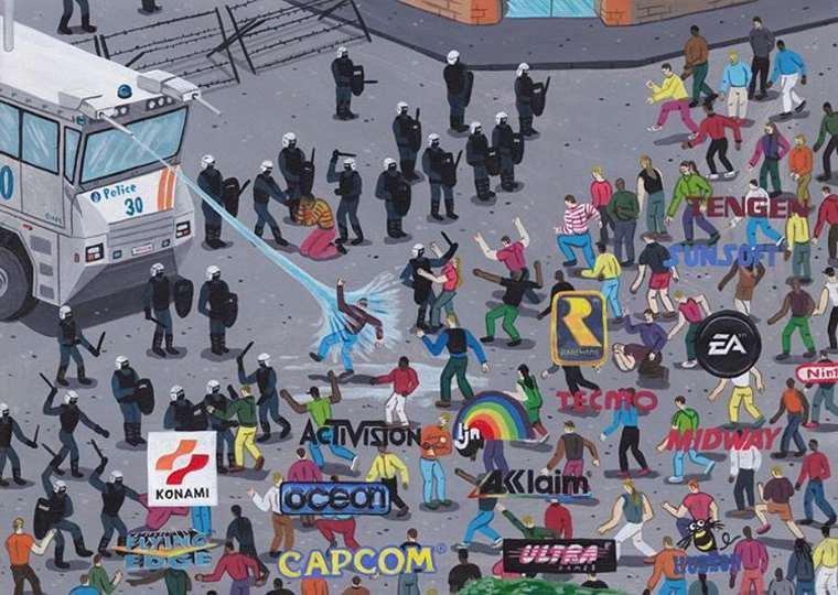 Social Media Addiction - The satirical illustrations by Brecht Vandenbroucke