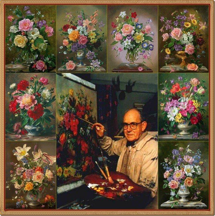 1 Натюрморты-Альберт Вильямс (Albert Williams), 1922-2010. Англия, коллаж deizi2009.jpg