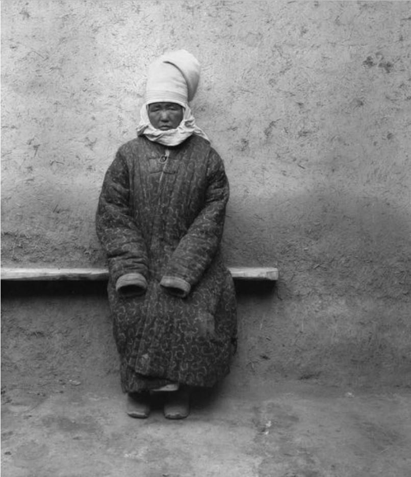 Учтурфан. Киргизка (56 лет)