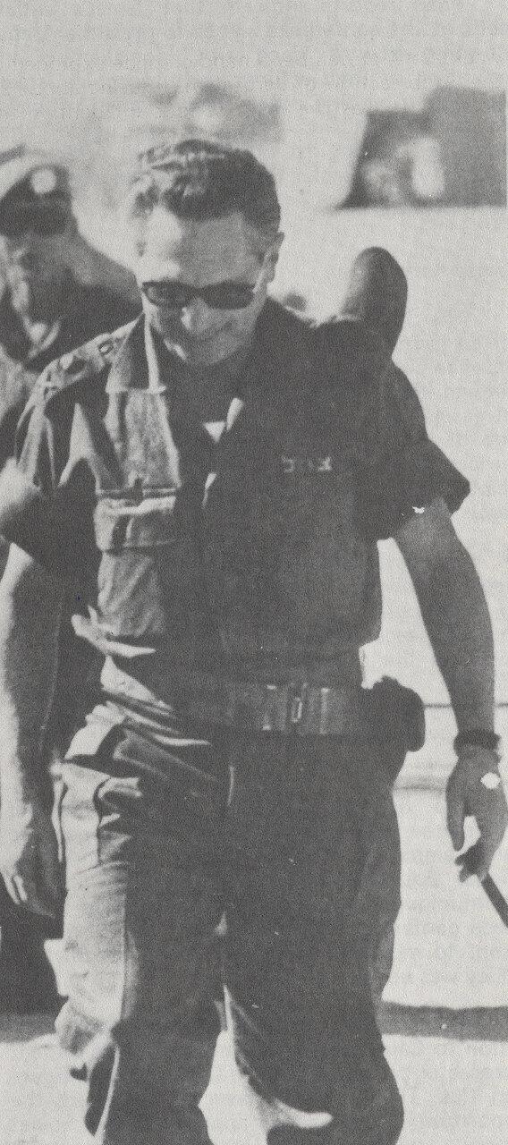 Израильский генерал Аарон Ярив