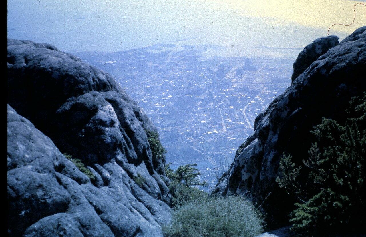 18 августа. Кейптаун (ЮАР). Вид со Столовой горы