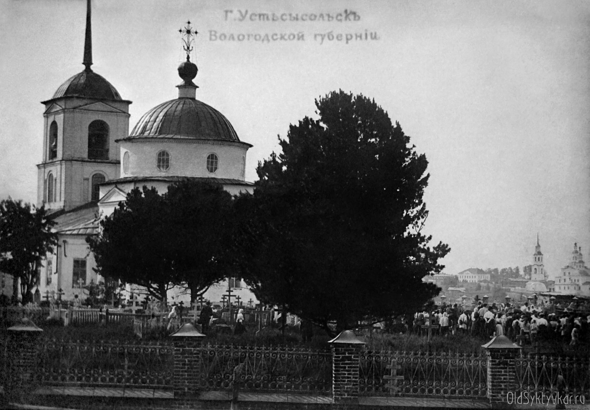 Кладбищенской церковь