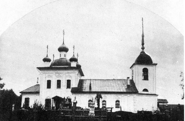 Ильинский Обнорский храм Грязовецкого уезда