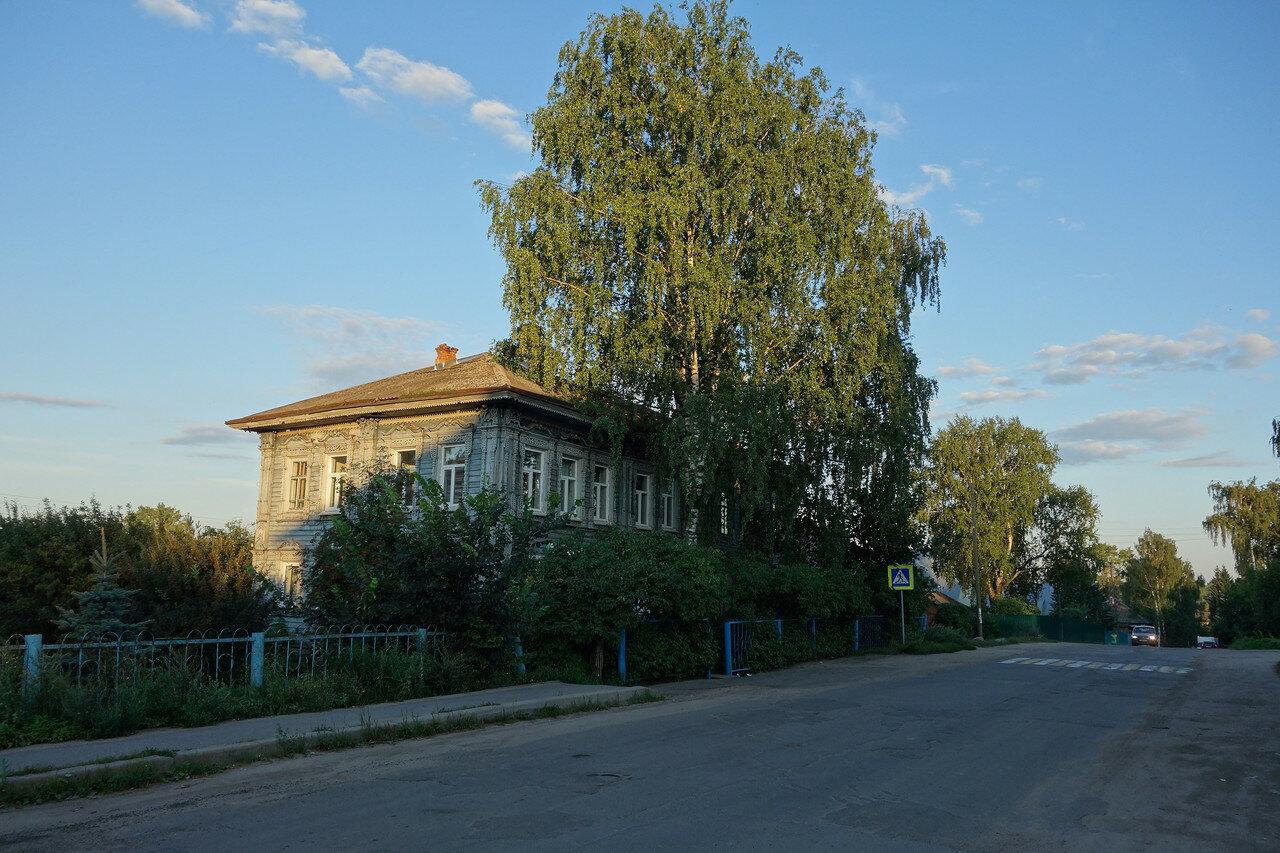 село Кубенское, березы