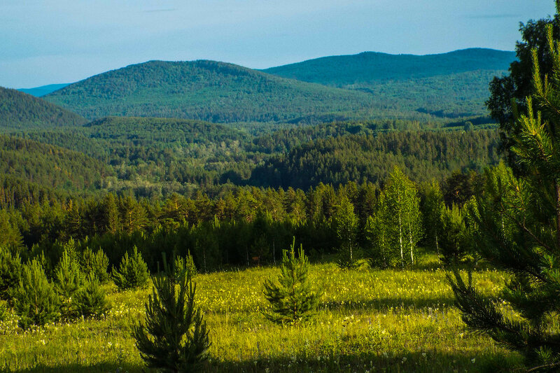 Синие горы Урала