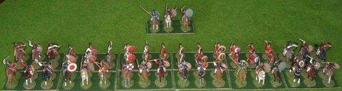 Византийская армия, 6 в.