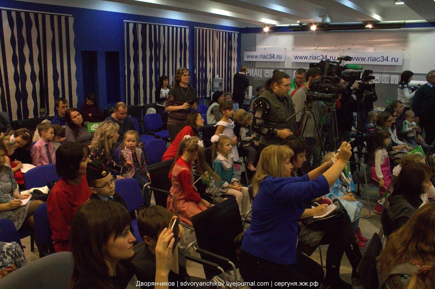 Дед Мороз в Волгограде - пресс-конференция в РИАЦ