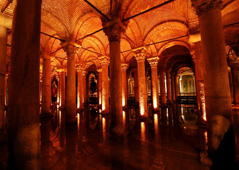 Цистерна Базилика (Стамбул) - фото