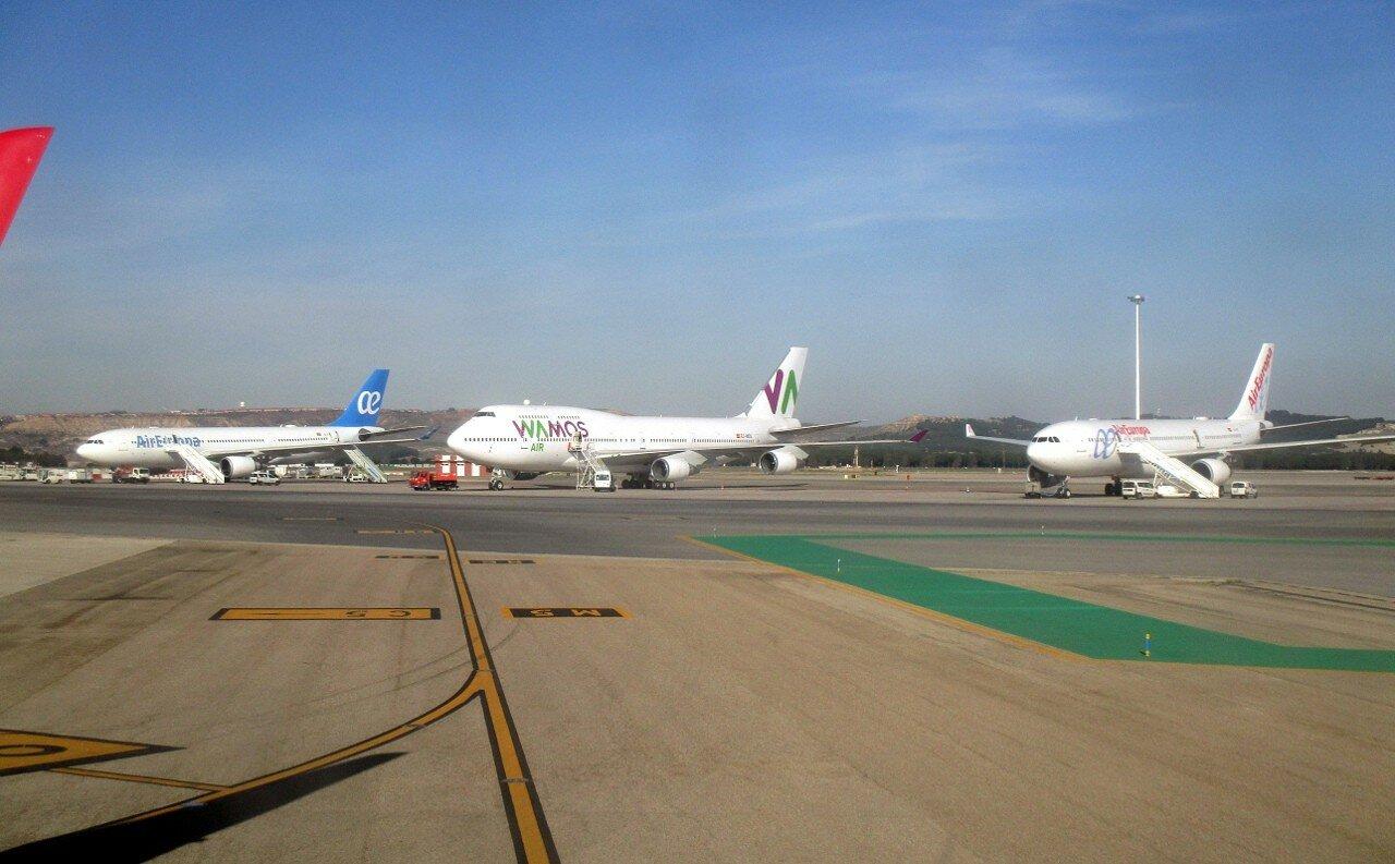 Аэропорт Барахас, Мадрид