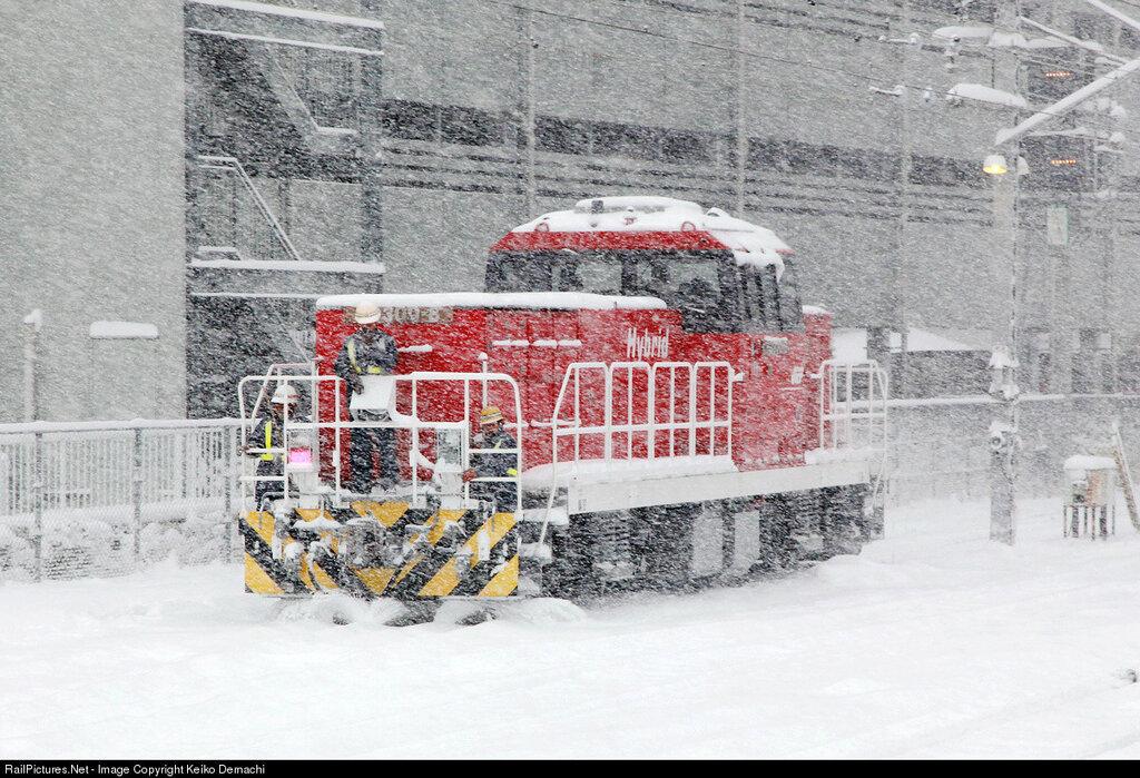 Japan Freight Railway Company HD300 8, Hachioji St., Tokyo, Japan. February 08, 2014.