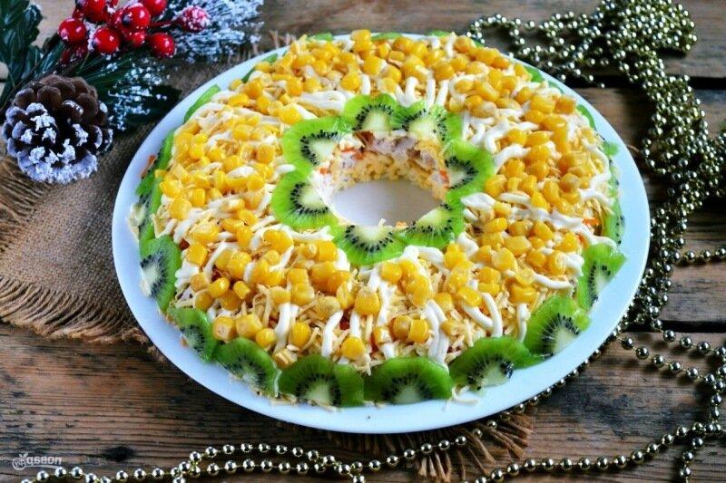 Новинки салатов с и рецептами 2017 на день рождения