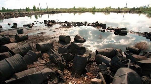 В прошлом веке в Дзержинске было захоронено более 200 тысяч тонн опаснейших химических отходов. Вода