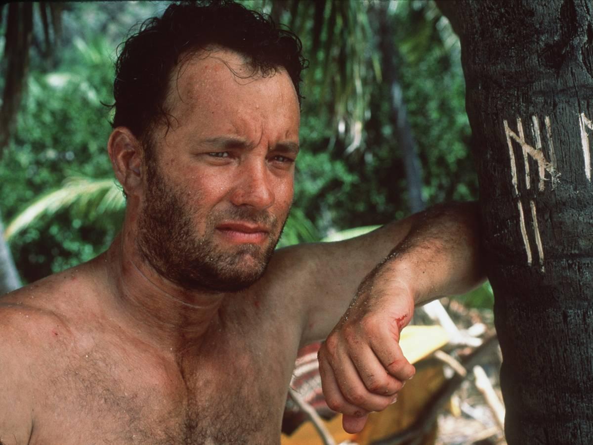 «Изгой» Во время съемок фильма «Изгой» на Фиджи Том Хэнкс подхватил очень опасную инфекцию, которая