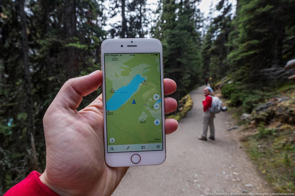 13. Это озеро Лу?из, оно считается наиболее раскрученным в национальном парке Банф, но меня оно
