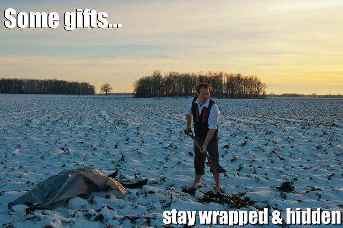 2012: «Некоторые подарки… остаются завернутыми и спрятанными».