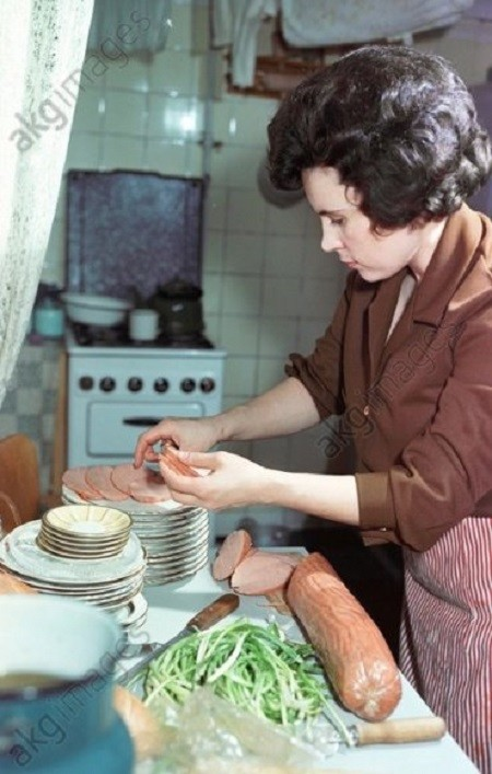 Софи Лорен в Москве, 1969 год.