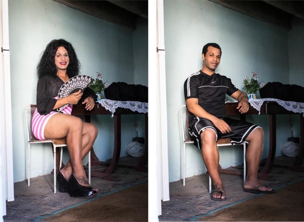 Кубинские транссексуалы — до и после смены пола