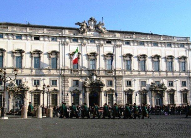 12. Квиринальский дворец, Италия Резиденция президента Италии, которой и является Квиринальский двор