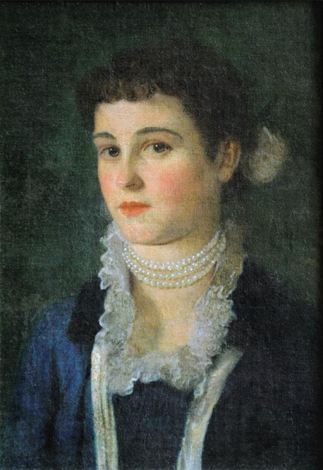 © klimt.com  «Портрет Клары Климт», 1883 Художник, чьи работы известны навесь мир своей красо