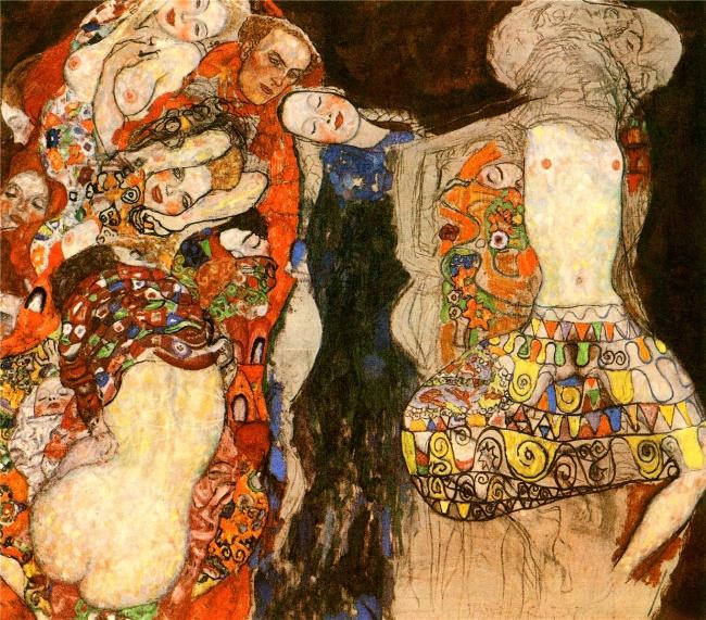 © klimt.com  «Невеста», 1918 Картина «Невеста»— одна инезавершенных картин художника, обнару