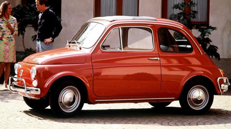 Fiat 500 '1968–1972 Сначала ему на замену планировался заднемоторный автомобиль с воздуш