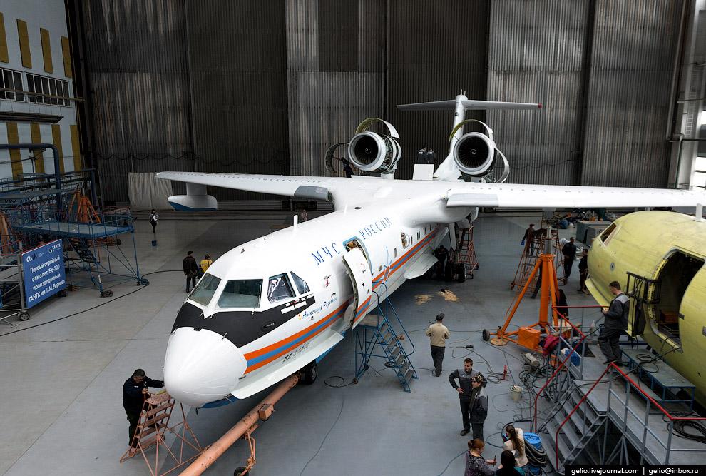 16. В 2010 году Бе-200ЧС совершил кругосветный перелёт для участия в международном аэрокосмичес