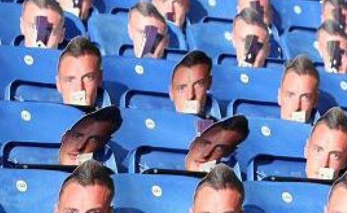Фанаты Лестера взнак протеста наденут маски сизображением Варди