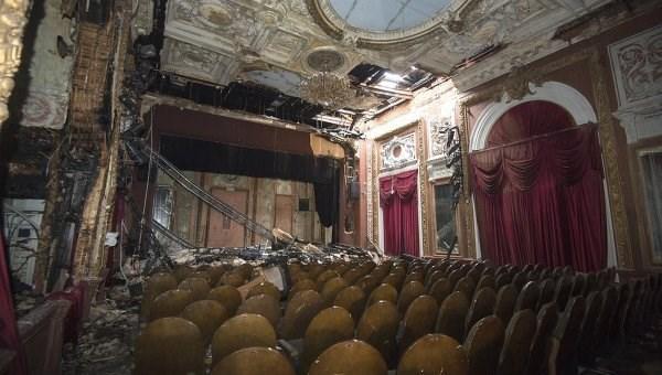 Реставрацию «Школы актуальной для нашего времени пьесы» завершат киюлю 2018г.
