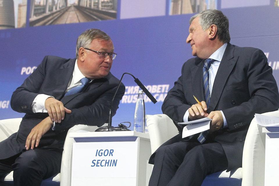 СМИ узнали обучастии ВТБ вприватизации «Роснефти»