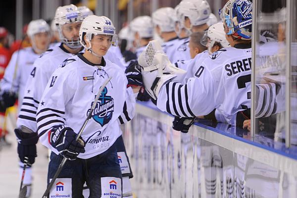 Хоккейный «Адмирал» воВладивостоке обыграл «Слован»