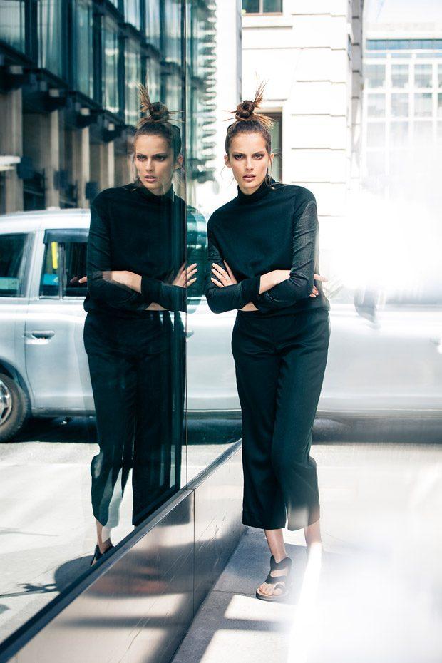 Photographer: Lucian Hunziker www.lucianhunziker.com Styling: Sarah Stalder Model: Nadine Martin @ E
