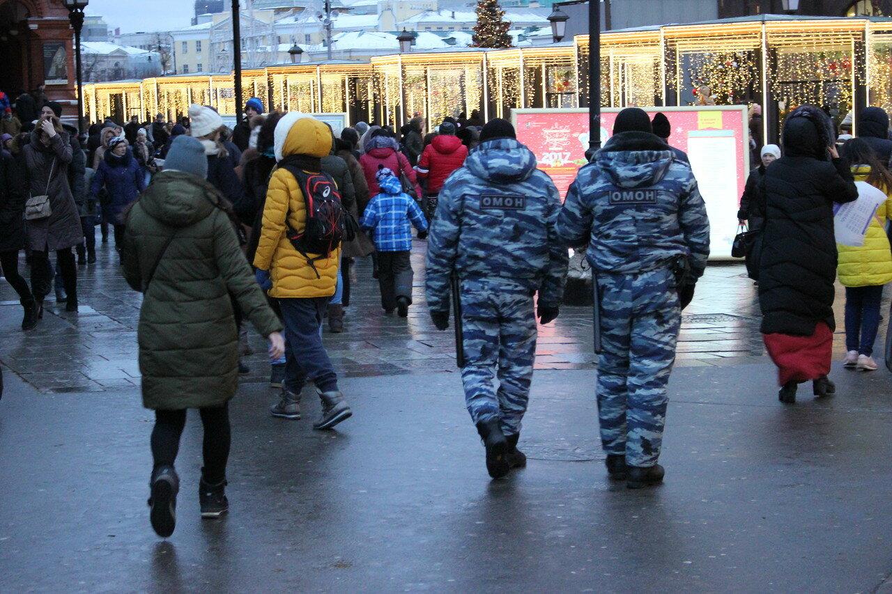 «Прогулку оппозиции» снова не пустили на Красную площадь