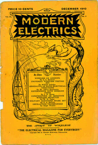 Modern Electrics: December 1910 - - Book Cover