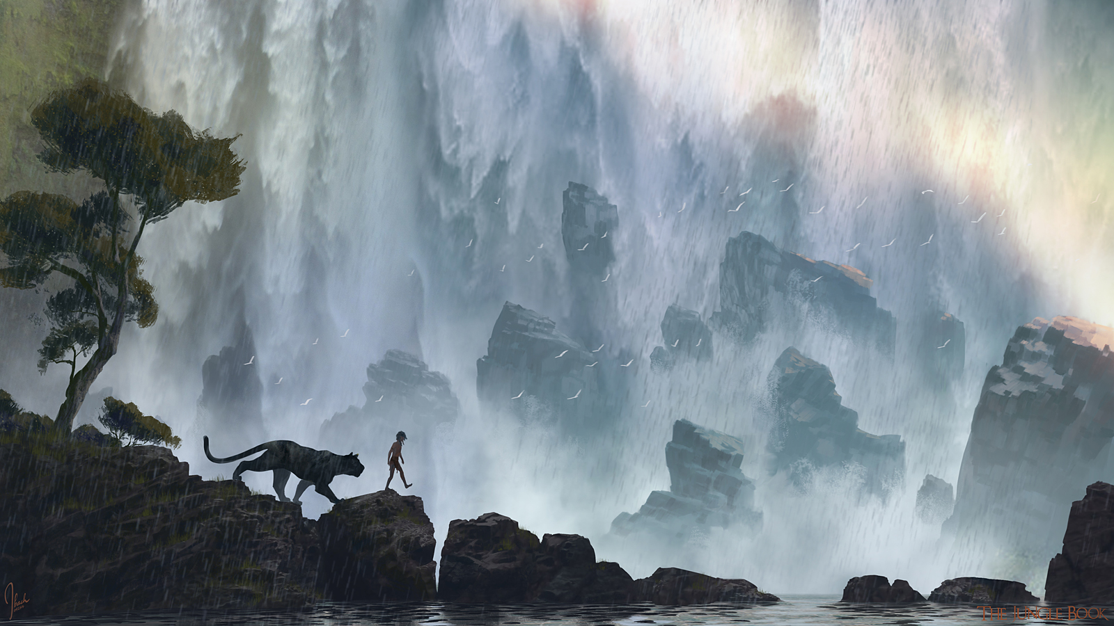 The Jungle Book Concept Art by Jonathan Bach