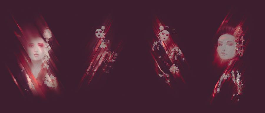 Numeric Geisha Variations (9 pics)