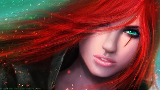 Amazing Digital Portraits by Anavi