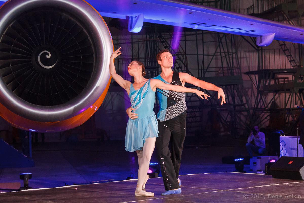 балет самолёт презентация ан-148 саратовские авиалинии вера шарипова фото 5