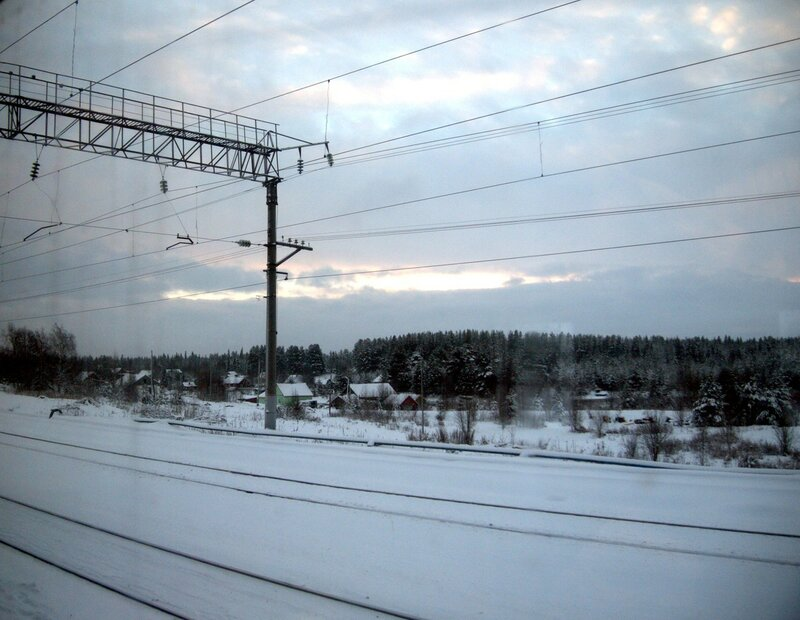 железная дорога, Амбарный