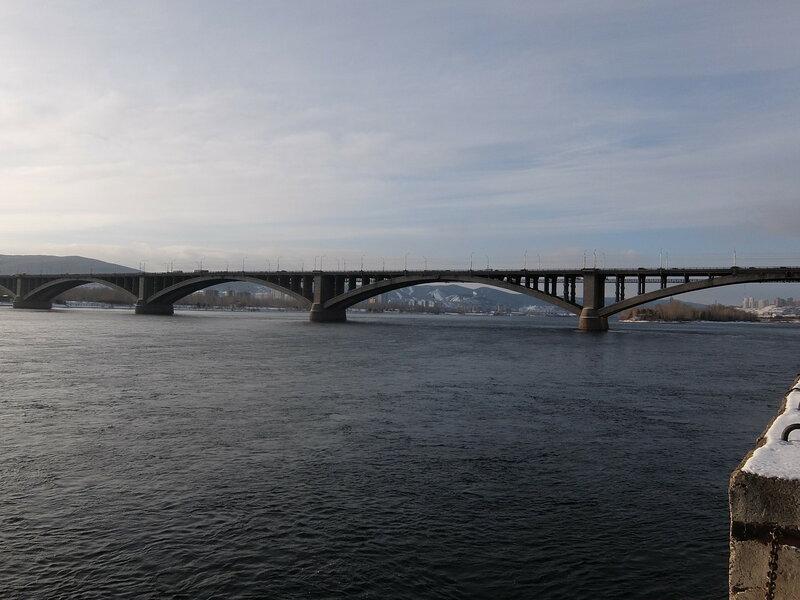 Красноярск - Коммунальный мост