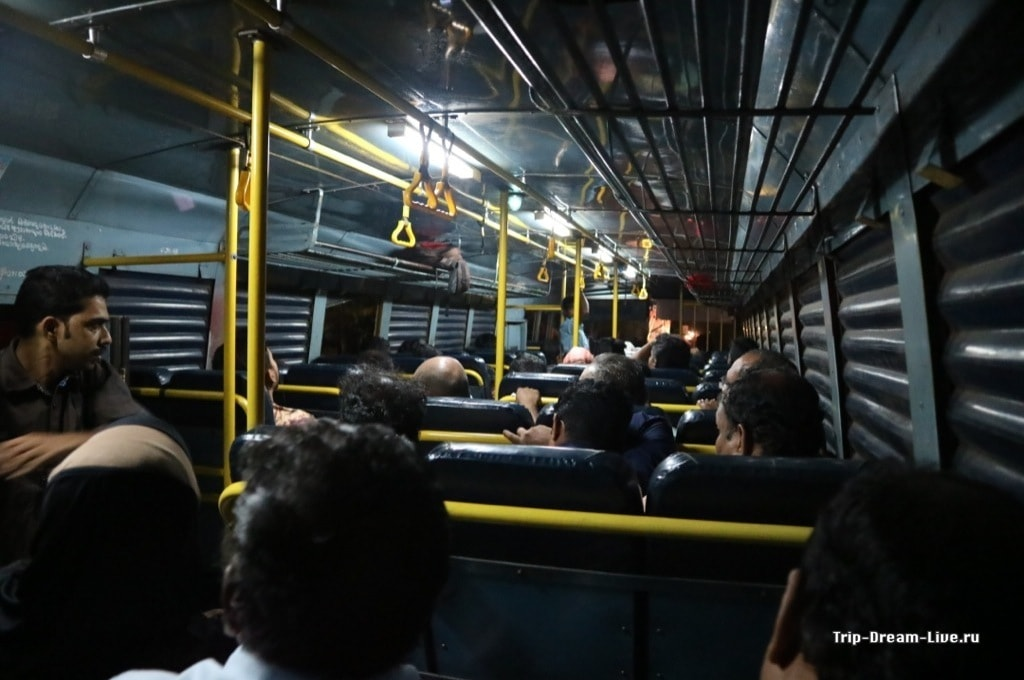 Автобус Кочи-Тривандрам