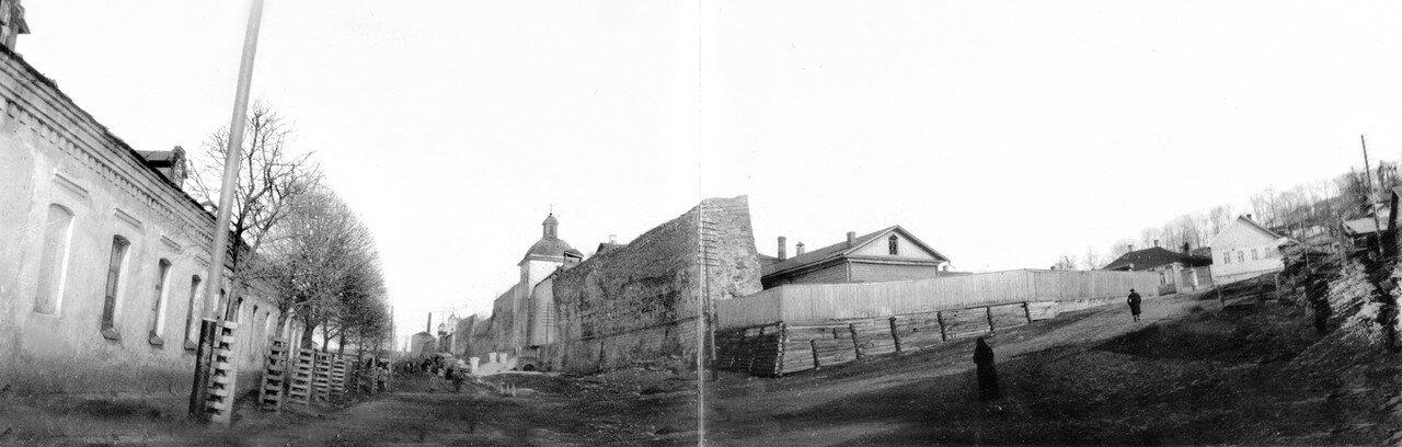 Панорама Армянской набережной и Большого Пятницкого пролома. 1902